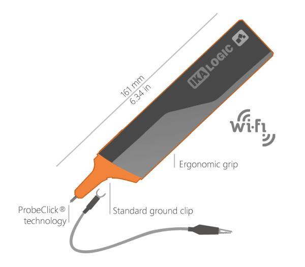IkaScope: a wireless oscilloscope probe
