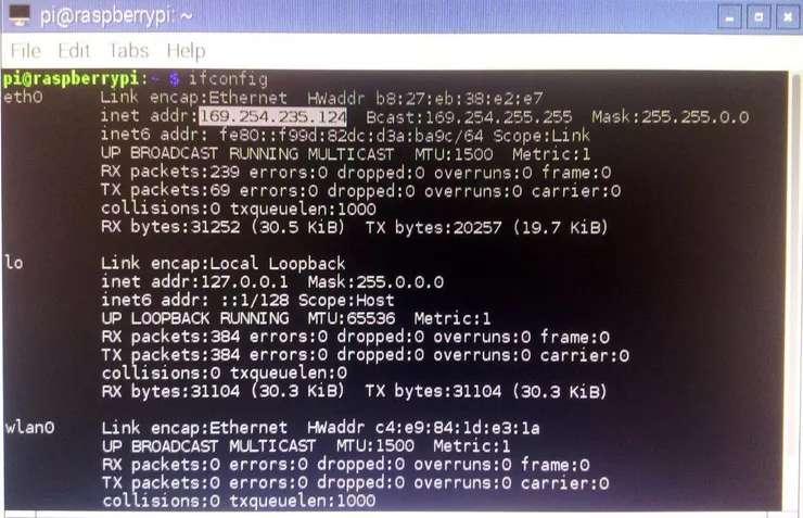 Insert SD Card to Raspberry Pi Board