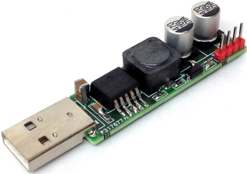 USB To 12V Boost Converter