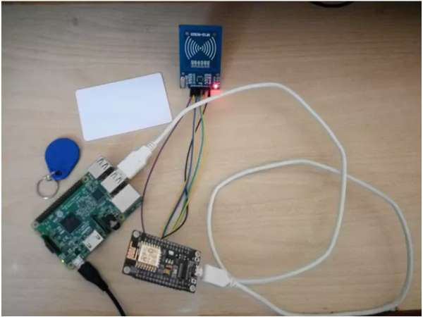 Attendance System Using MYSQL with Raspberry and RFID-RC522