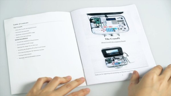 Printed user manual and step by step digital tutorial