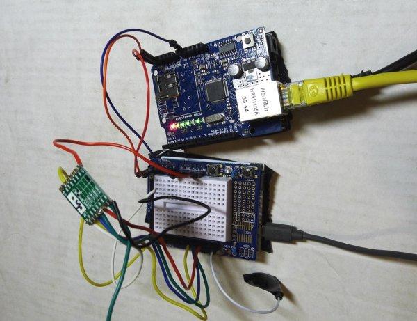 program also sitting on the same Raspberry Pi