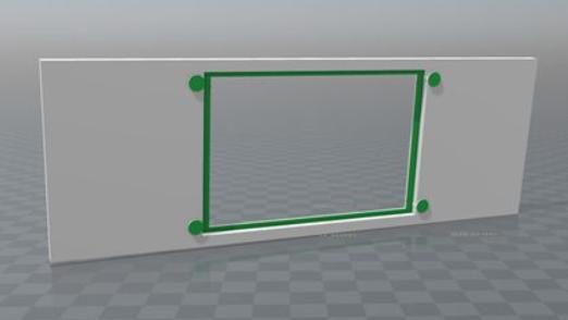 Final Faceplate 3D Model