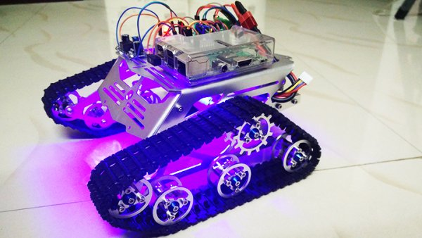 RASPBERRY PI WIFI ROBOT CONTROLLED FROM ANDROID SMART PHONE