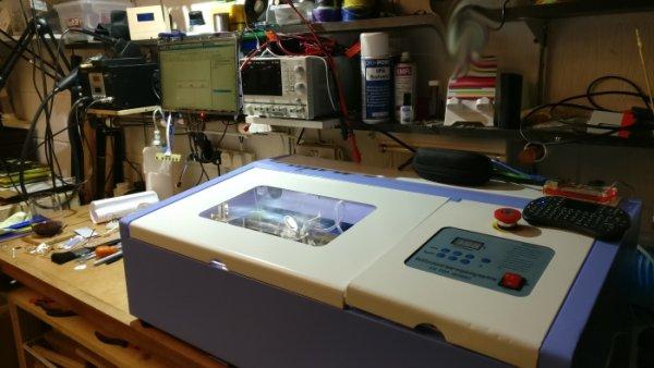 K40 laser cutter