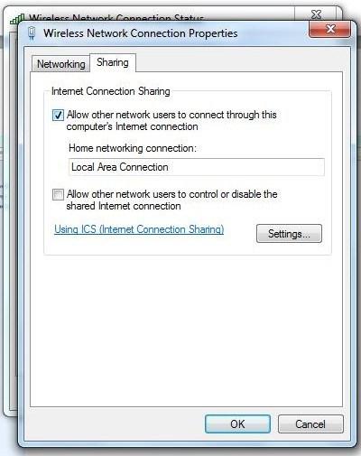 SHARING INTERNET 3