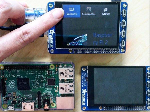 Adafruit SPI Touchscreen