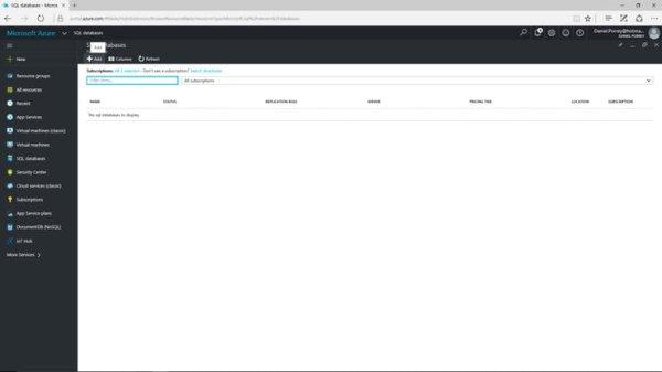 Azure SQL Database Setup (2)