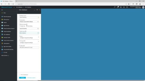 Azure SQL Database Setup (3)