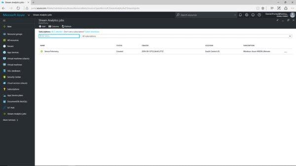 Azure Stream Analytics Setup (5)