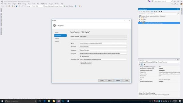 Configure and Publish the Mobile App (4)