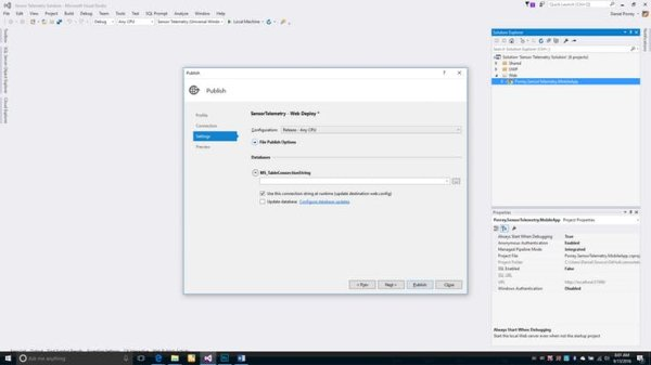 Configure and Publish the Mobile App (5)