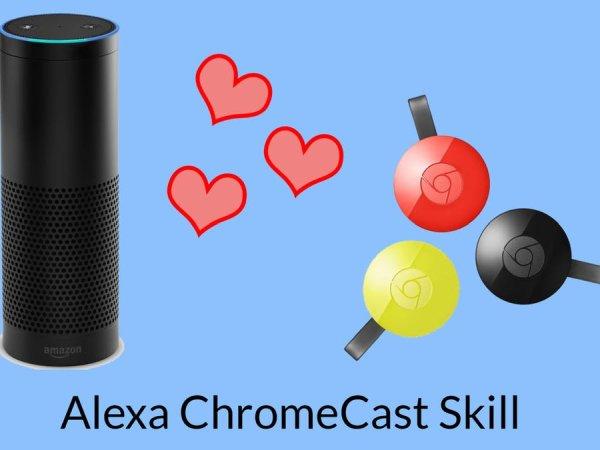 Controlling a Chromecast