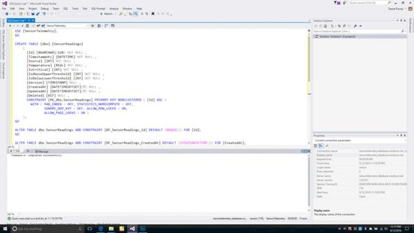 Create the Database Table (8)