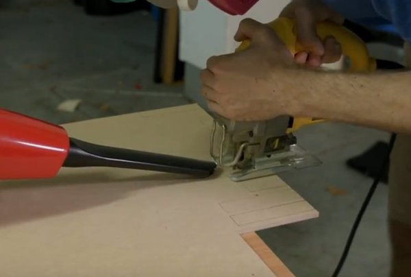 Cutting and Gluing the Housing(4)