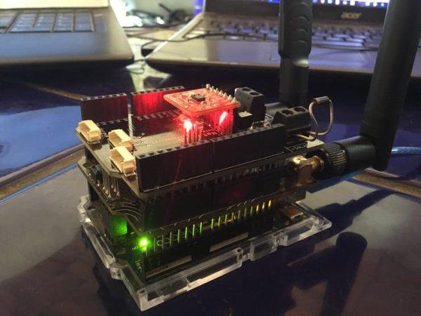 Helium Air Quality Sensor insider