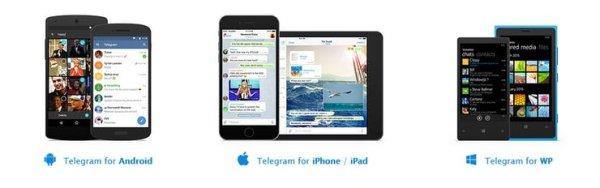 Open Telegram app