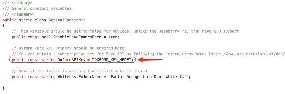 Replace OXFORD_KEY