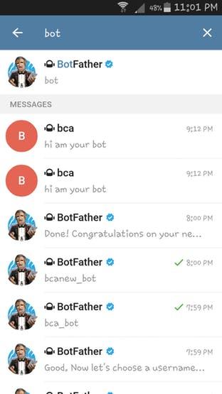Start BotFather