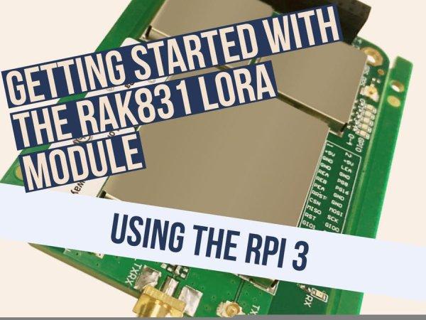 RAK 831 Lora Gateway