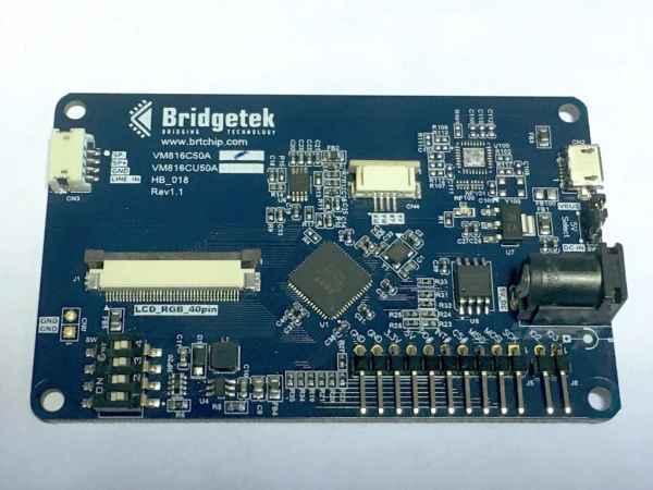 Credit Card Sized HMI Development Hardware