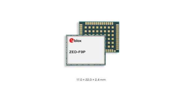 ZED-F9P module – u-blox F9 high precision GNSS module