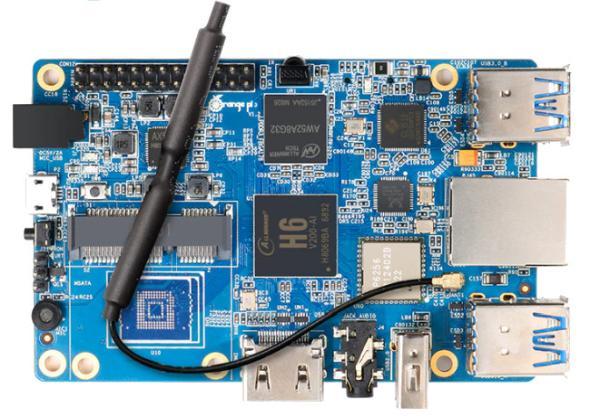 "ALLWINNER H6 ""ORANGE PI 3"" SBC WITH GBE AND MINI-PCIE"