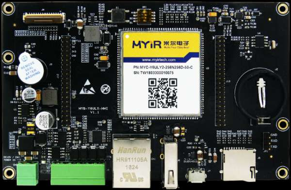 MYIR LAUNCHES $99 LINUX-DRIVEN HMI DISPLAY PANEL 1