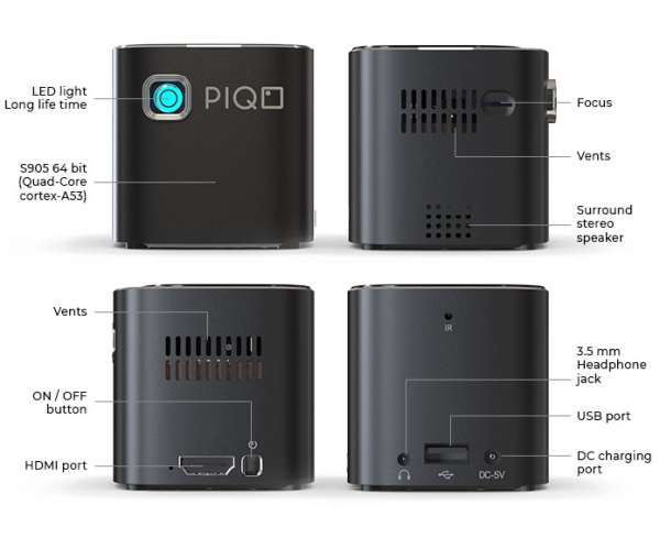 PIQO IS A SMALL BUT POWERFUL POCKET PROJECTOR 2