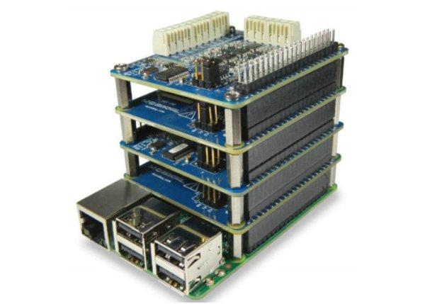 Raspberry-Pi-DAQ-HAT-1 using RaspberryPi