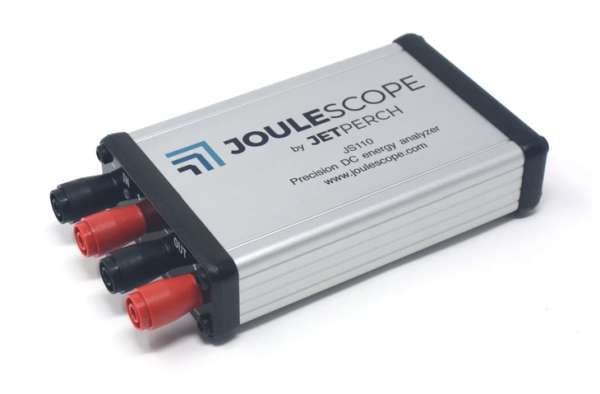 Joulescope Precision DC Energy Analyzer