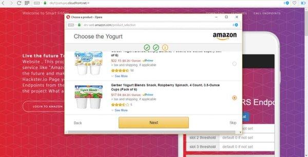 3rd slot choose the yogurt
