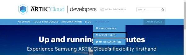 Configuring your ARTIK cloud account