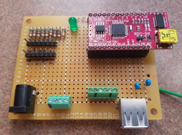 IO Controller Board, LED Controller, Power Interface