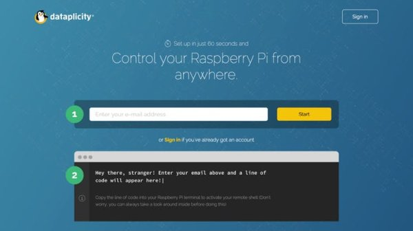 Make your Raspberry Pi visible on the net