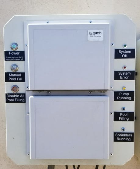 Pool Control System - External