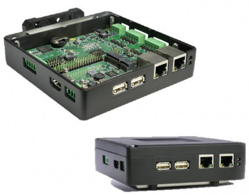 Raspberry Pi based IoT gateway offers optional cellular, Zigbee, Z-Wave, or LoRa