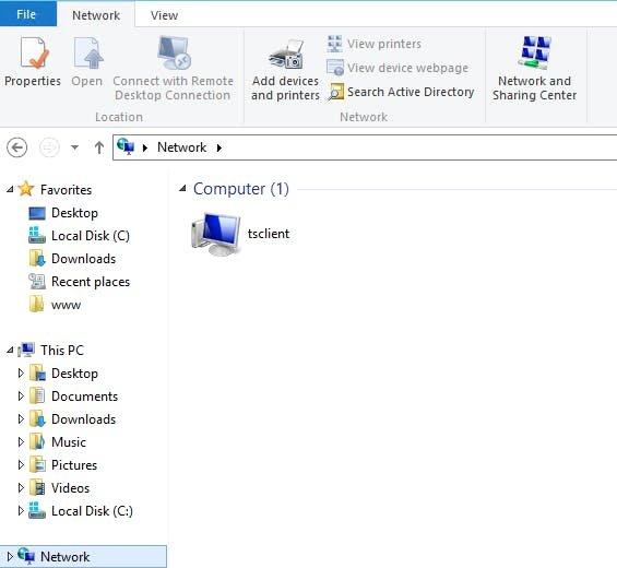 click the remote desktop file 1