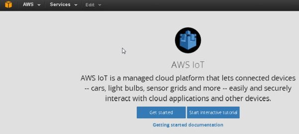 A for AWS IoT