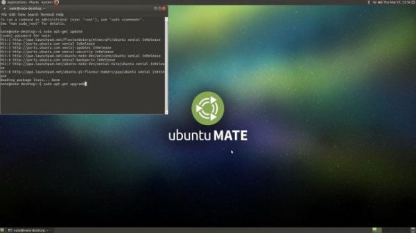 Update & upgrade Ubuntu MATE