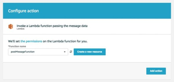 lambda function is created