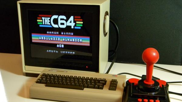 CUSTOM MONITOR FOR PI-POWERED COMMODORE 64