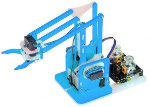 Kitronik unpacks a Raspberry Pi compatible robot arm