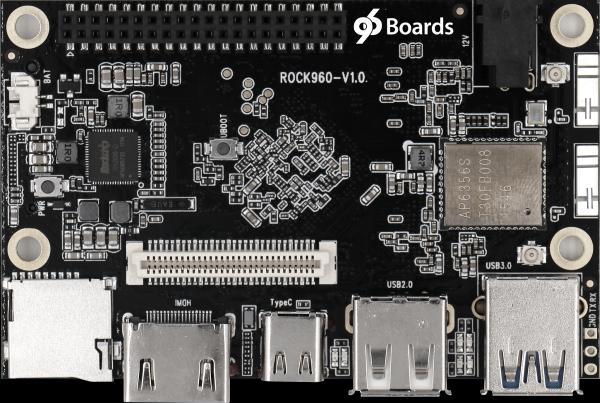 RK3399 SOC BASED ROCK960 MODEL C FEATURES 4-LANES PCI-E 2.1