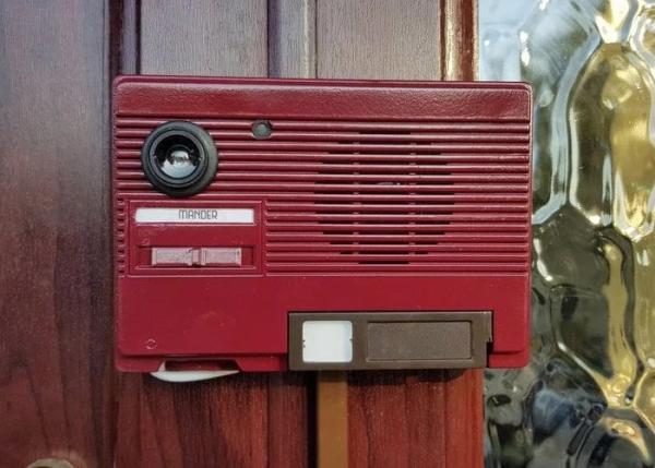 Raspberry Pi video doorbell retro style