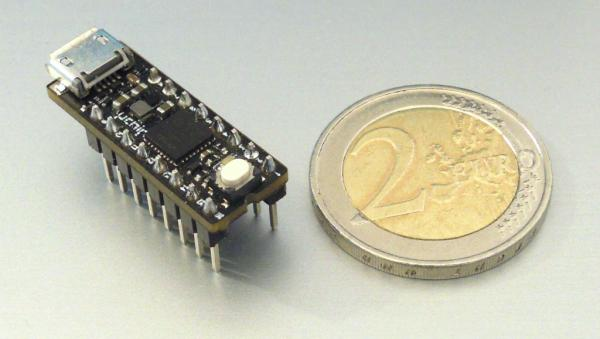 UCHIP ARDUINO ZERO COMPATIBLE IN A NARROW DIP-16 PACKAGE!