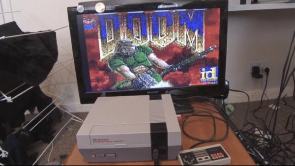 DOOM ON THE NES