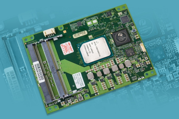 FIRST COM EXPRESS TYPE 7 MODULE WITH INTEL ATOM C3000 PROCESSOR