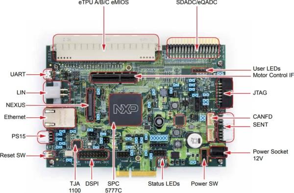 NXP SEMICONDUCTORS MPC5777C POWER ARCHITECTURE® MICROCONTROLLER