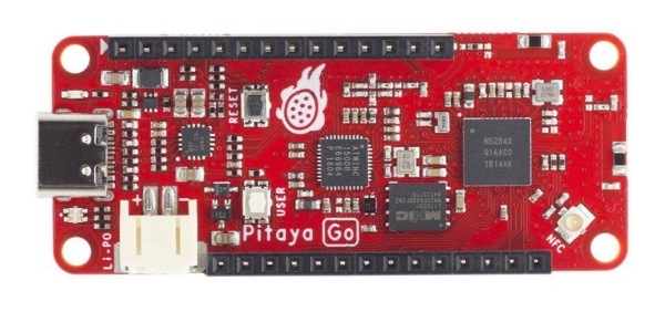 MAKERDIARY RELEASES PITAYA GO IOT DEVELOPMENT BOARD BASED ON NORDIC'S NRF52840 SOC